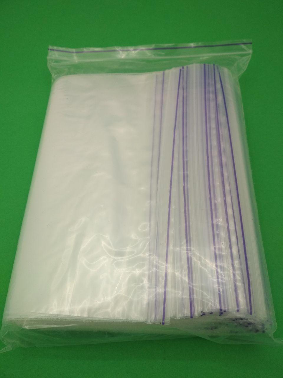Пакеты с замком застежкой струна зиплок zip-lock 16x28  (100шт/пач)