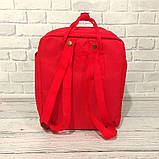 Хит! Яркий молодежный рюкзак сумка Fjallraven Kanken Classic канкен классик Красный + подарок, фото 5