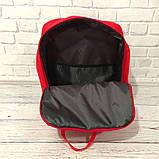 Хит! Яркий молодежный рюкзак сумка Fjallraven Kanken Classic канкен классик Красный + подарок, фото 8