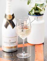 Бокал для вина и шампанского прозрачный Moet &amp Chandon 500мл Хозяюшка UA