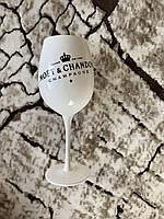 Бокал для вина и шампанского Moet &amp Chandon 500 мл белый Хозяюшка UA