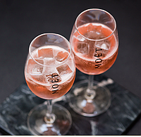 Набор бокалов (2шт) для вина и шампанского Moet &amp Chandon 500мл Хозяюшка UA
