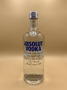 Водка Absolut 1L Абсолют Vodka 1л