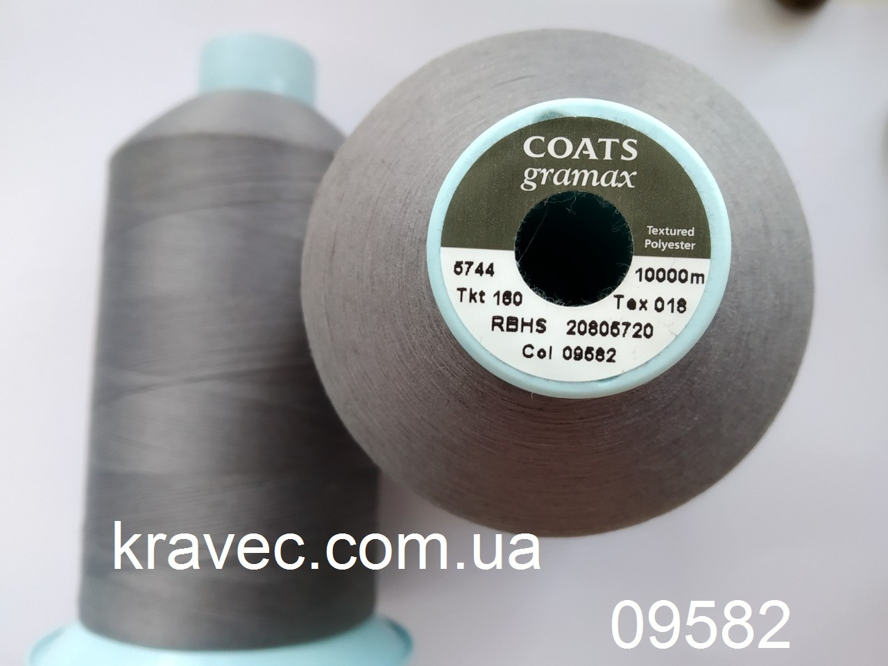 Текстурована нитка Coats gramax 160/ 10000м /09582