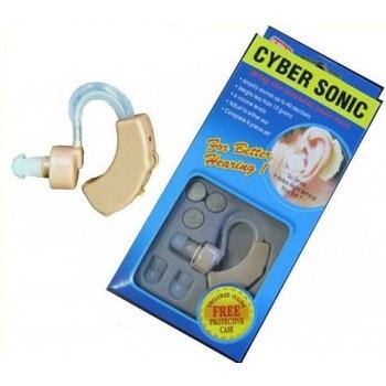 Слуховой апарат CYBER SONIC, Аппарат для слуха, Усилитель звука аппарат за ухом, Аппарат для слуха