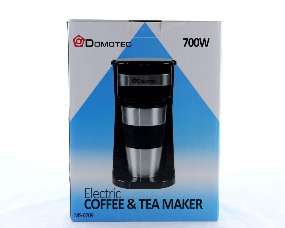 Кофеварка + термо стакан MS 0709 220V,  Капельная кофеварка, Кофеварка с кружкой, Кофеварка с термо кружкой