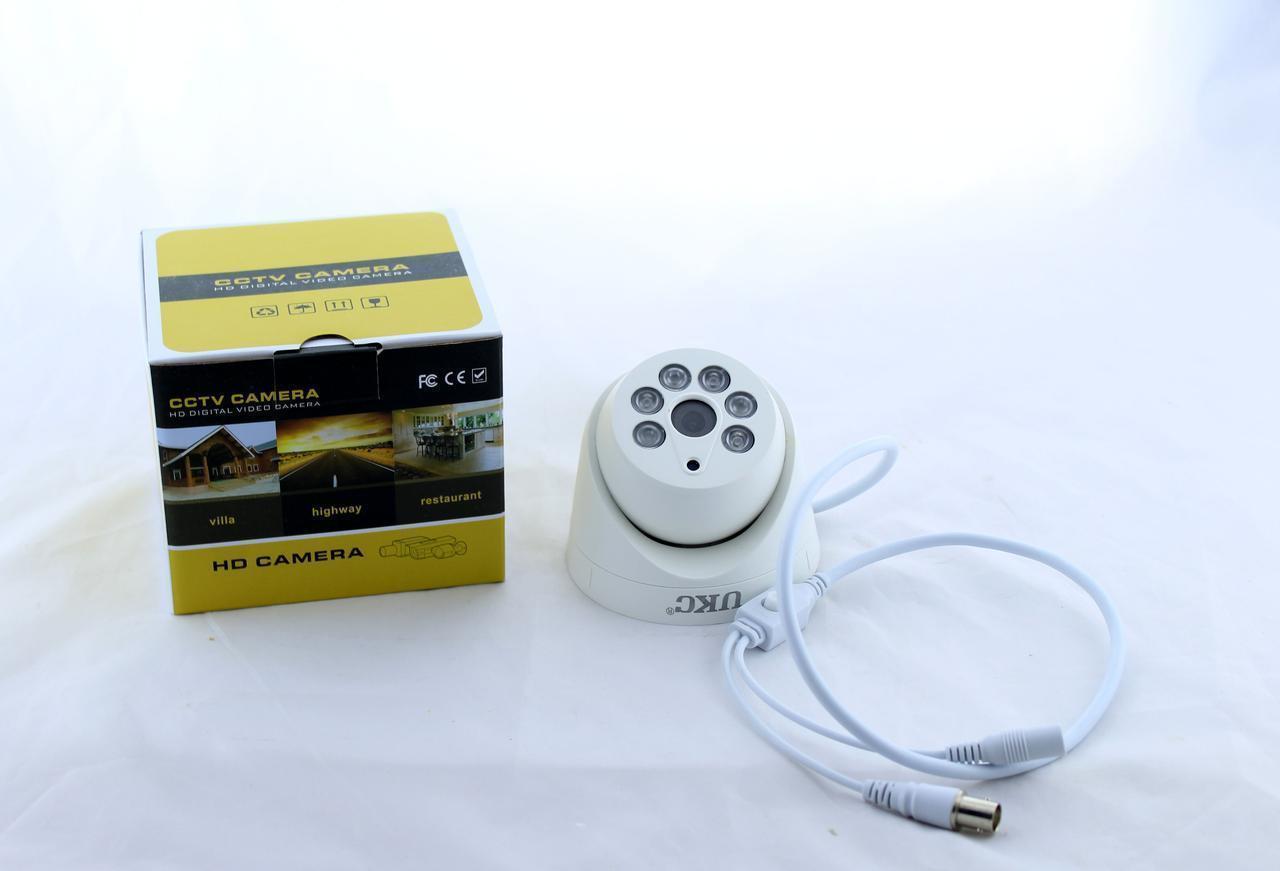 Камера CAMERA CAD Z201 AHD 4mp\3.6mm, Купольная камера видеонаблюдения, Мини камера наблюдения