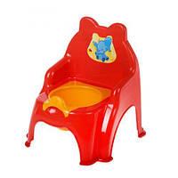 Детский горшок-стульчик (красный)  sco