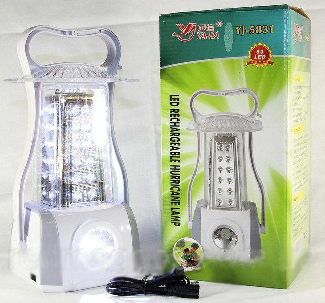 Фонарик YJ 5831, Фонарь лампа для кемпинга, Фонарик аккумуляторный светодиодный, Кемпинговый фонарик лампа
