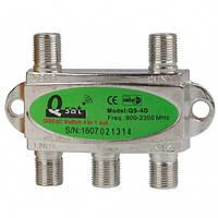 Переключатель DiSEqC 4x1 Q-sat QS-4D R150771