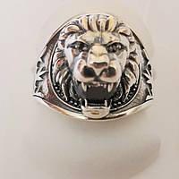 Перстень из серебра Клык льва, фото 1