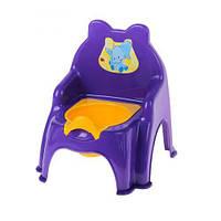 Детский горшок-стульчик (фиолетовый) 013317/02/9 sco