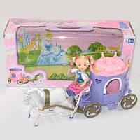 Карета с лошадкой и куколкой (ОПТОМ) R-3358A