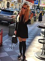 Очень стильное теплое ангоровое платье с длинным рукавом, 3 цвета