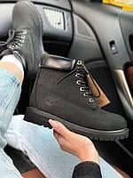 Ботинки Timberland 6 Inch Premium black (MADE IN USA) Демисезон