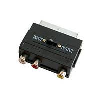 Переходник Scart на 3 Rca и S-Video с переключателем R150797