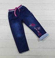 Детские джинсы оптом для девочек на МАХРЕ 2,3,4,5,6 лет.