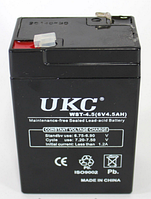 Аккумулятор BATTERY GD 645 6V 4A, Аккумулятор общего назначения, Аккумуляторная батарея, Аккумулятор для весов