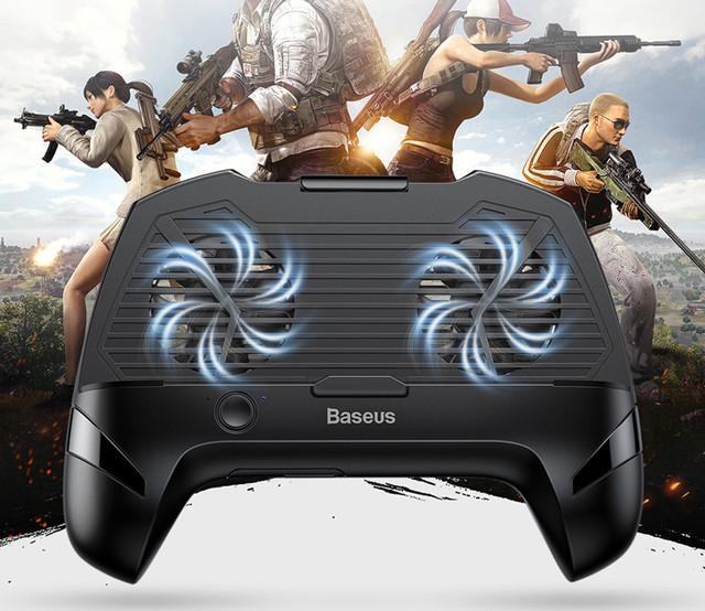Игровой держатель с аккумулятором Baseus Cool Play Games Dissipate-heat ACSR -CW01 (Черный), цена 549 грн., купить в Николаеве — Prom.ua (ID#1048547909)