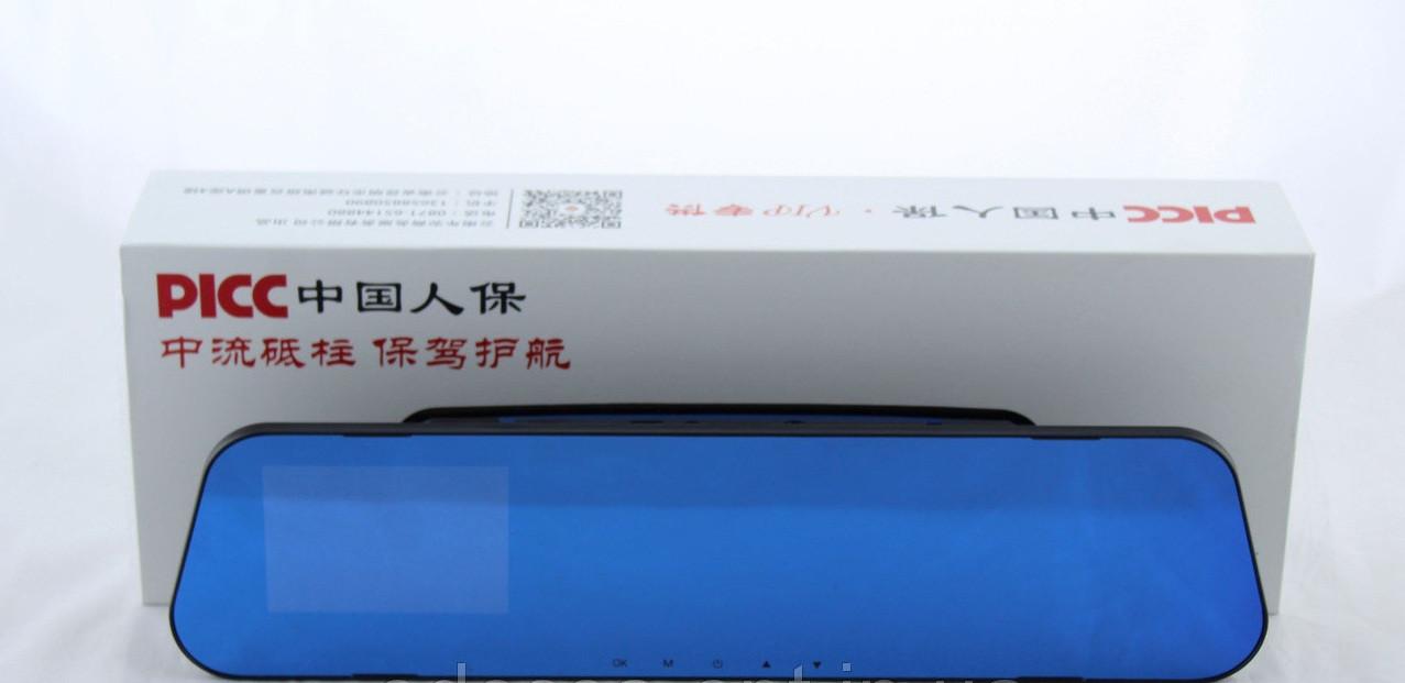 DVR 138E зеркало без дополнительной камеры, Видеорегистратор, Зеркало заднего вида, Автомобильный регистратор