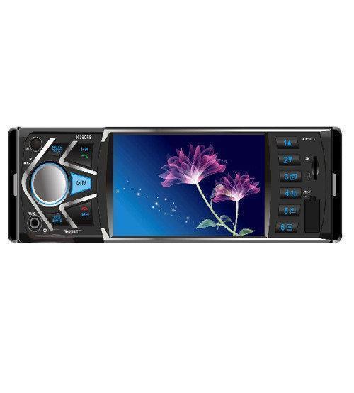 """Автомагнитола 4038 CRM, экран 4.1""""+Bluetooth, Магнитола блютуз в машину, Магнитола с ДУ пультом на руль"""