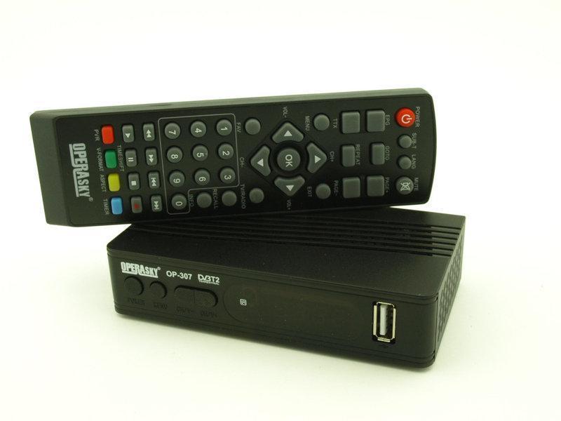 Тюнер T2 OP-307 operasky, приставка Т2 , ТВ ресивер, ТВ тюнер, Телеприемник цифровое телевидение