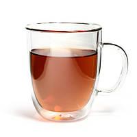 Чашка капучино с двойными стенками (двойным дном) 300мл Хозяюшка UA