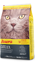 Josera Catelux 2кг-сухой корм для кошек с уткой и картофелем