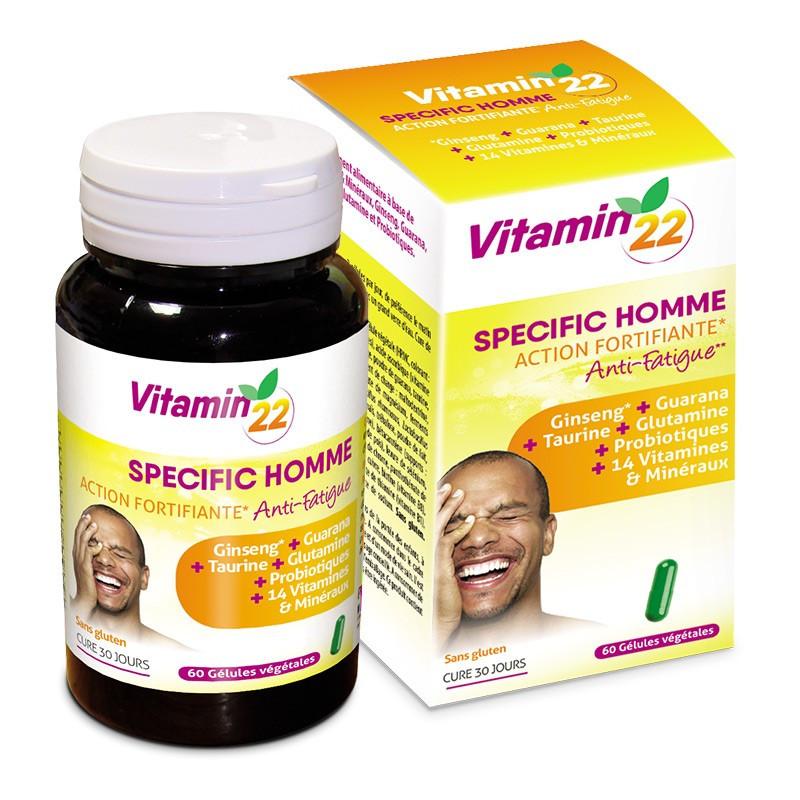 Витамины специальные мужские Vitamin 22