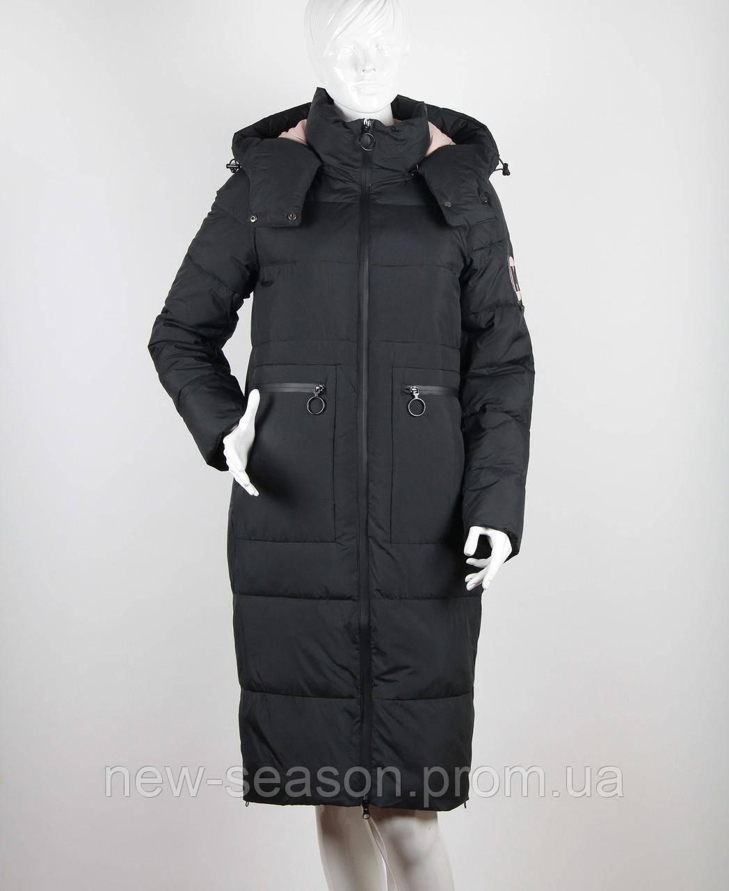 Пуховик зимний TOWMY 2239 черный