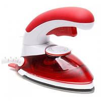 Ручной отпариватель для одежды HT 558B Компактный Паровой утюг Красный Удобный Мощный Интересный Код: КВ0647