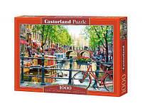 """Игрушка-Пазл Castorland """"1000"""" """"Пейзаж, Амстердам"""" (С-103133)"""