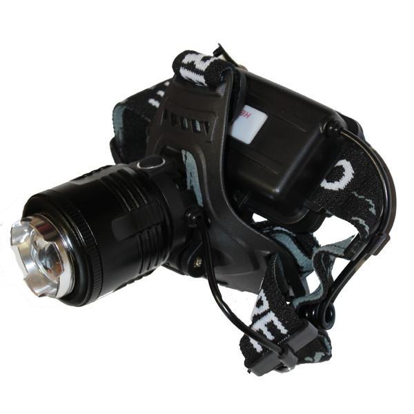 Фонарик на лоб 2177-T6, Налобный фонарь, Светододный фонарь на голову, Аккумуляторный фонарь, Мощный фонарь
