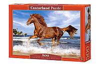 """Игрушка-Пазл Castorland """"500"""" """"Лошадь в галопе"""" (В-51175)"""