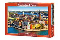 """Игрушка-Пазл Castorland """"500"""" """"Стокгольм, Швеция"""" (В-52790)"""