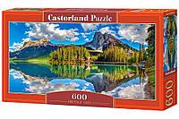 """Игрушка-Пазл Castorland """"600"""" """"Изумрудное озеро"""" (В-060092)"""
