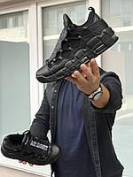 Мужские кроссовки черные Nike Air More Money 8227