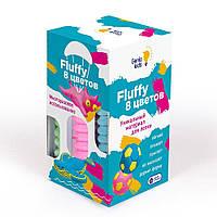 Воздушный пластилин для детской лепки GENIO KIDS «Fluffy 8 цветов» (TA1503) (4814723006012)