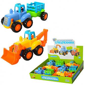 Машинки для малышей Спецтехника 326AB
