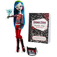 Кукла Монстер Хай Гулия Йелпс с питомцем базовая Monster High Ghoulia Yelps Basic