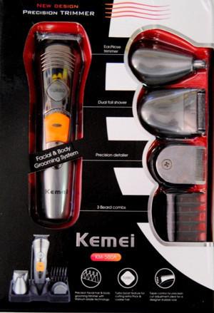 Бритва MP5580/KM580A 7in1, Машинка для стрижки волос и бритья, Машинка для стрижки бороды, Триммер для стрижки