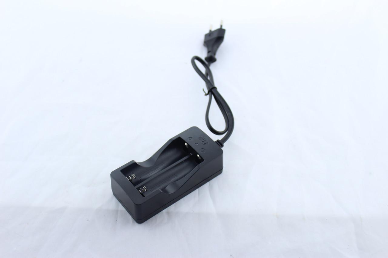 Зарядное устройство на 2x18650 от сети 220V DOUBLE, Зарядка для аккумуляторов,Зарядное устройство для батареек