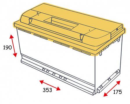 Topla Energy 6СТ-100 Автомобильный аккумулятор 108 400, фото 2