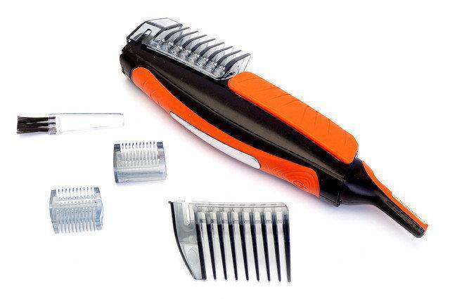 Стрижка для бороды Switch bland, Триммер гигиенический, Машинка для стрижки бороды и усов с насадками, фото 1