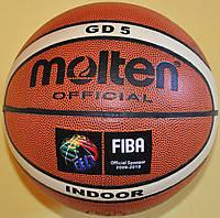 Мяч баскетбольний №5 Molten GD5