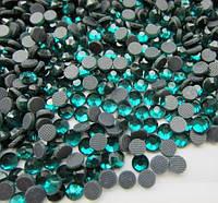 Стразы DMC, Blue Zircon (блю циркон) SS10 термоклеевые. Цена за 144 шт