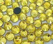 Стразы DMC, Citrine (цитрин) SS10 термоклеевые. Цена за 144 шт