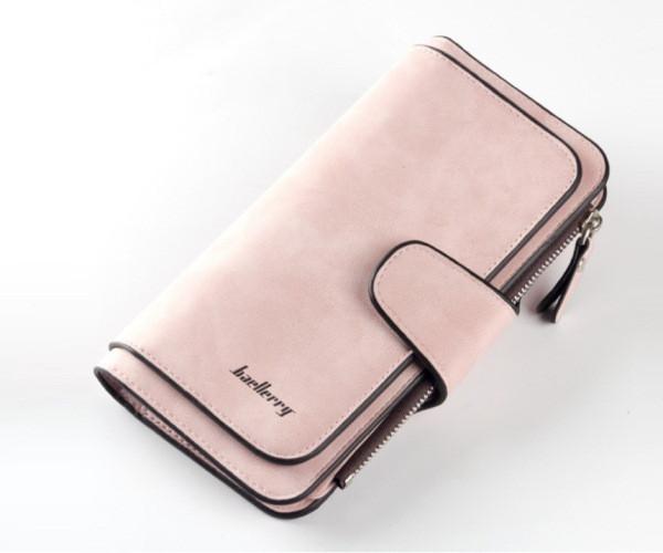 Кошелек Baellerry N2345 MALINA, Женское портмоне клатч, Женский кошелек розовый, Женский клатч кошелек