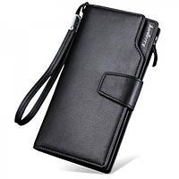Кошелек Baellerry S1063 BLACK, Вместительный кошелек мужской, Портмоне мужское, Мужской клатч-портмоне, фото 1