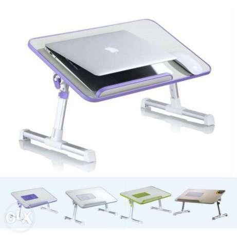 Подставка Laptop table A8, Складной стол для ноутбука с кулером для охлаждения, Подставка кулер для ноутбука, фото 1